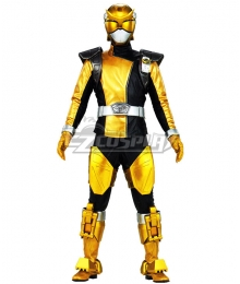 Power Rangers Beast Morphers Beast Morphers Gold Cosplay Costume