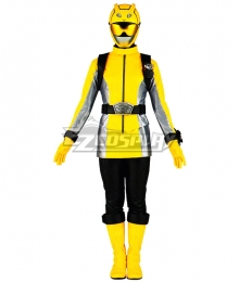 Power Rangers Beast Morphers Beast Morphers Yellow Cosplay Costume