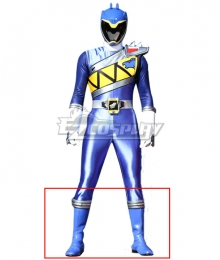 Power Rangers Dino Charge Dino Charge Blue Ranger Blue Shoes Cosplay Boots