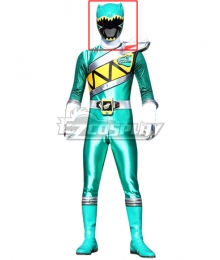 Power Rangers Dino Charge Dino Charge Green Ranger Helmet Cosplay Accessory Prop