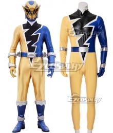 Power Rangers Dino Fury Gold Ranger Cosplay Costume