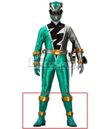 Power Rangers Dino Fury Green Ranger Green Shoes Cosplay Boots