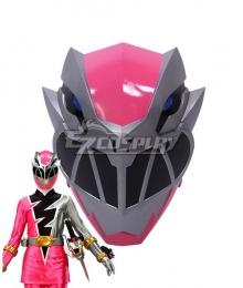Power Rangers Dino Fury Pink Ranger Helmet Cosplay Accessory Prop