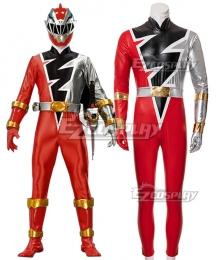 Power Rangers Dino Fury Red Ranger Cosplay Costume