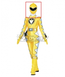 Power Rangers Dino Thunder Yellow Dino Ranger Helmet Cosplay Accessory Prop