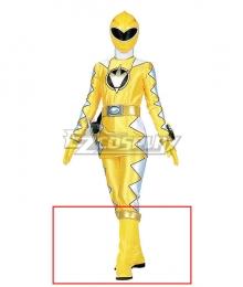 Power Rangers Dino Thunder Yellow Dino Ranger Yellow Shoes Cosplay Boots