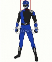 Power Rangers HyperForce HyperForce Blue Helmet Cosplay Accessory Prop