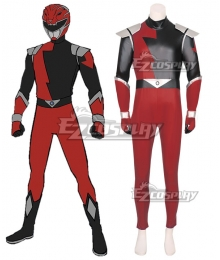 Power Rangers HyperForce HyperForce Red Cosplay Costume