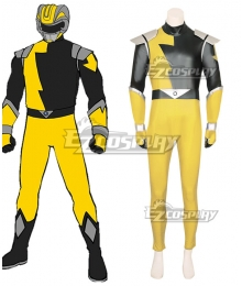 Power Rangers HyperForce HyperForce Yellow Cosplay Costume