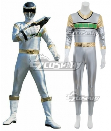 Power Rangers In Space Silver Space Ranger Cosplay Costume