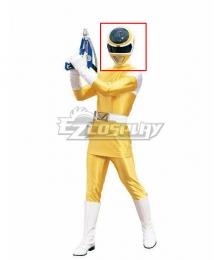 Power Rangers In Space Yellow Space Ranger Helmet Cosplay Accessory Prop