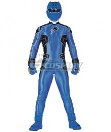Power Rangers Jungle Fury Jungle Fury Blue Ranger Cosplay Costume