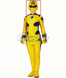 Power Rangers Jungle Fury Jungle Fury Yellow Ranger Helmet Cosplay Accessory Prop
