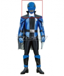 Power Rangers Kaitou Sentai Lupinranger VS Keisatsu Sentai Patranger Lupin Blue Helmet Cosplay Accessory