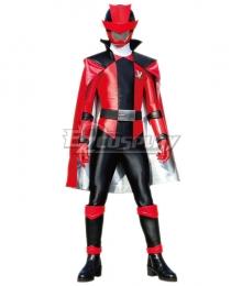 Power Rangers Kaitou Sentai Lupinranger VS Keisatsu Sentai Patranger Lupin Red Cosplay Costume