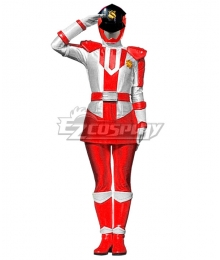 Power Rangers Kaitou Sentai Lupinranger VS Keisatsu Sentai Patranger Patren 1gou Female Cosplay Costume