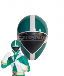 Power Rangers Lightspeed Rescue Green Lightspeed Ranger Helmet Cosplay Accessory Prop