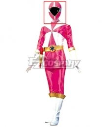 Power Rangers Lightspeed Rescue Pink Lightspeed Ranger Helmet Cosplay Accessory Prop