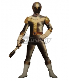 Power Rangers Lightspeed Rescue Titanium Ranger Cosplay Costume
