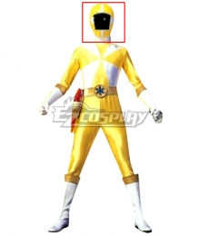 Power Rangers Lightspeed Rescue Yellow Lightspeed Ranger Helmet Cosplay Accessory Prop
