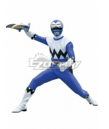 Power Rangers Lost Galaxy Galaxy Blue Cosplay Costume