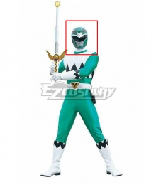 Power Rangers Lost Galaxy Galaxy Green Helmet Cosplay Accessory Prop