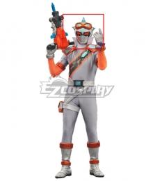 Power Rangers Super Sentai Mashin Sentai Kiramager Kiramai Dark Silver Helmet Cosplay Accessory Prop