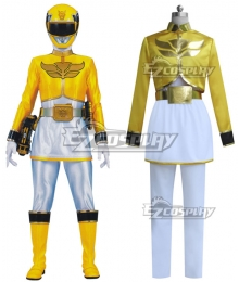 Power Rangers Megaforce Megaforce Yellow Cosplay Costume