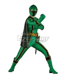 Power Rangers Mystic Force Green Mystic Ranger Cosplay Costume