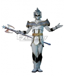 Power Rangers Mystic Force White Mystic Ranger Cosplay Costume