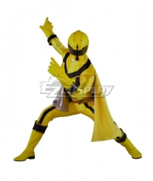 Power Rangers Mystic Force Yellow Mystic Ranger Cosplay Costume