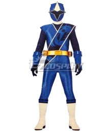 Power Rangers Ninja Steel Ninja Steel Blue Cosplay Costume