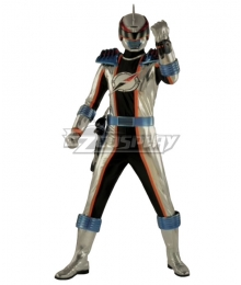 Power Rangers Operation Overdrive Mercury Ranger Cosplay Costume