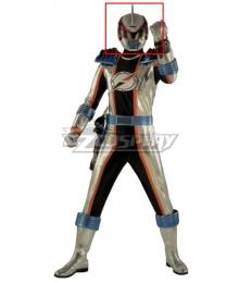 Power Rangers Operation Overdrive Mercury Ranger Helmet Cosplay Accessory Prop