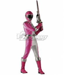 Power Rangers Operation Overdrive Pink Overdrive Ranger Cosplay Costume
