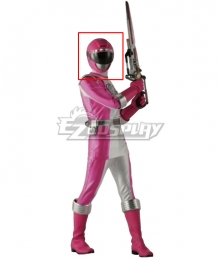 Power Rangers Operation Overdrive Pink Overdrive Ranger Helmet Cosplay Accessory Prop