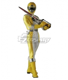 Power Rangers Operation Overdrive Yellow Overdrive Ranger Cosplay Costume