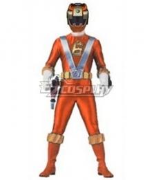 Power Rangers RPM Operator Series Orange Cosplay Costume