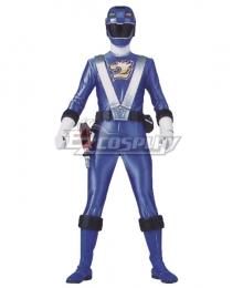 Power Rangers RPM Ranger Operator Series Blue Cosplay Costume
