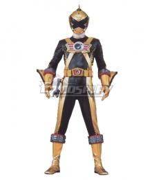 Power Rangers RPM Ranger Operator Series Gold Cosplay Costume
