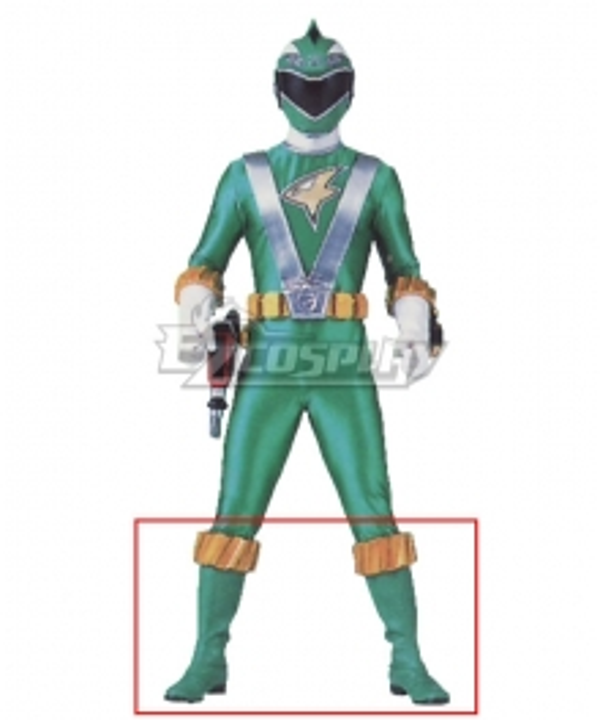 Power Rangers RPM Ranger Operator Series Green Green Shoes Cosplay Boots