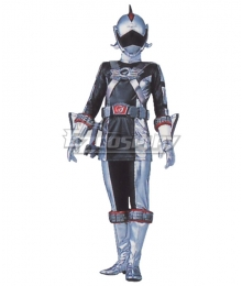 Power Rangers RPM Ranger Operator Series Silver Cosplay Costume