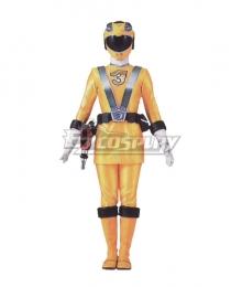 Power Rangers RPM Ranger Operator Series Yellow Cosplay Costume