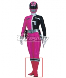 Power Rangers S.P.D. SPD Pink Ranger Pink Shoes Cosplay Boots