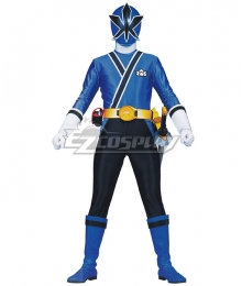 Power Rangers Samurai Blue Samurai Ranger Cosplay Costume