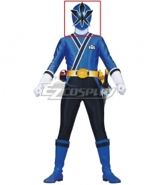 Power Rangers Samurai Blue Samurai Ranger Helmet Cosplay Accessory Prop