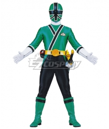 Power Rangers Samurai Green Samurai Ranger Cosplay Costume