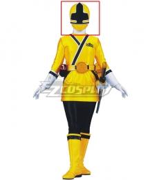 Power Rangers Samurai Yellow Samurai Ranger Helmet Cosplay Accessory Prop