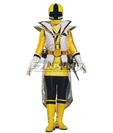 Power Rangers Samurai Yellow Samurai Ranger Super Samurai Mode Cosplay Costume