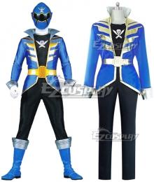 Power Rangers Super Megaforce Super Megaforce Blue Cosplay Costume